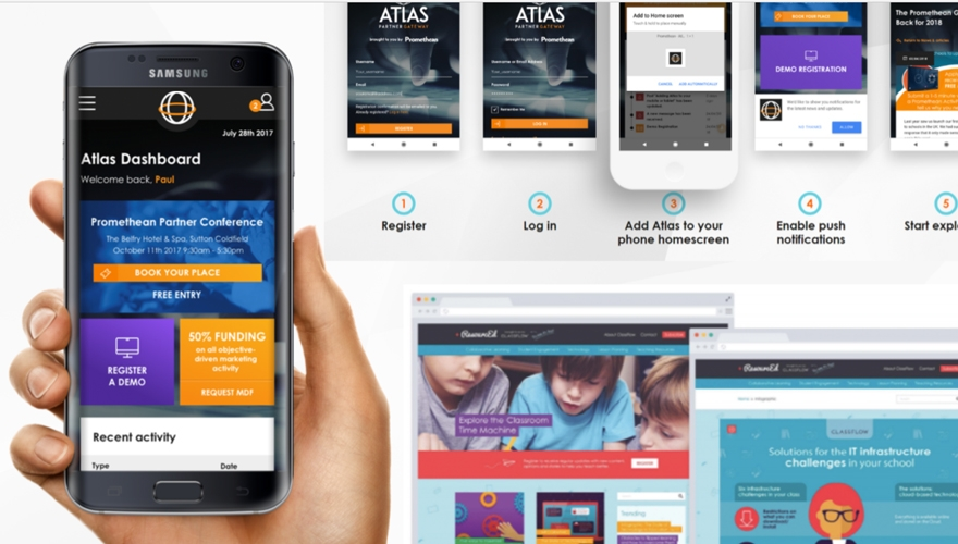 Awards case study: How Promethean increased its app registration by 437%