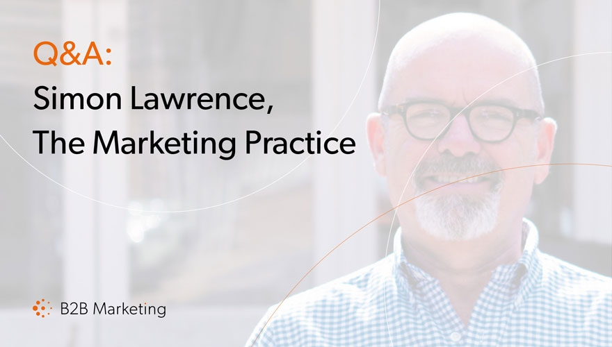 Q&A: Simon Lawrence, director, The Marketing Practice image