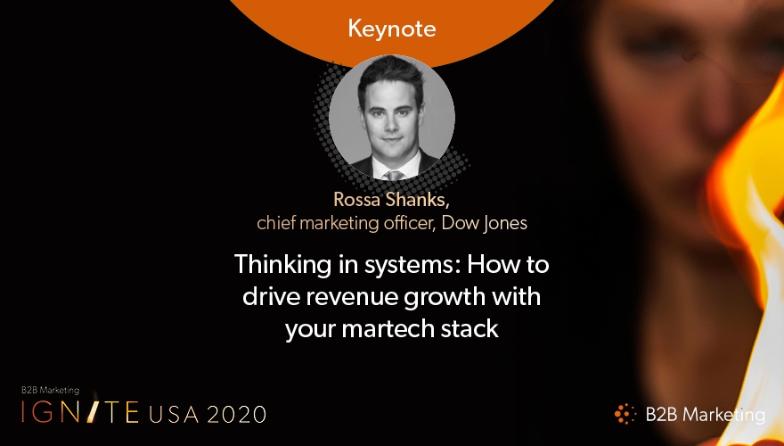Ignite USA 2020 Keynote session: How to drive revenue growth with your martech stack