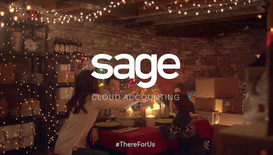 Sage releases Christmas video ad celebrating small businesses image