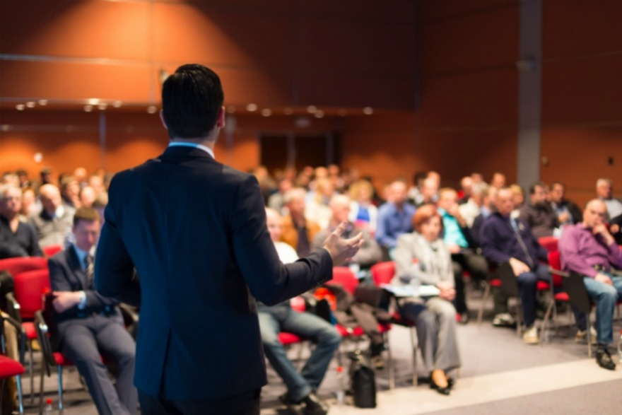 Surprise pitches at events are annoying, experts have warned image