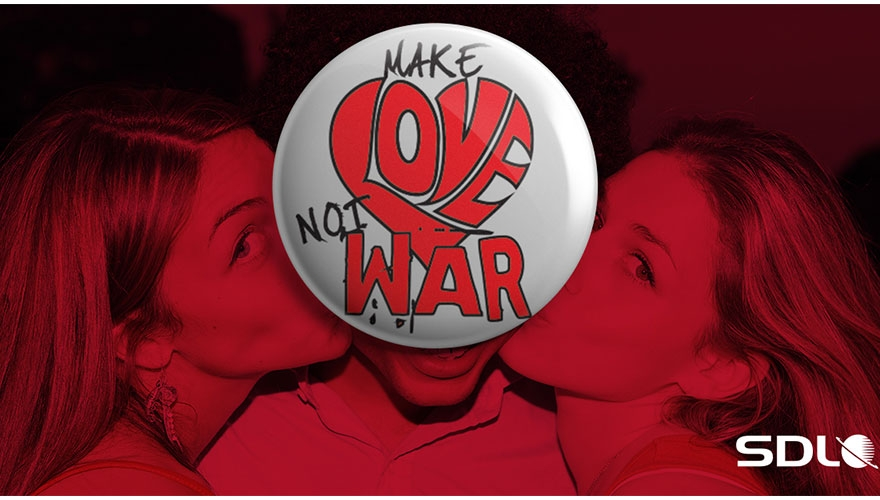 SDL launches Valentine's Day 'Love…or War?' campaign