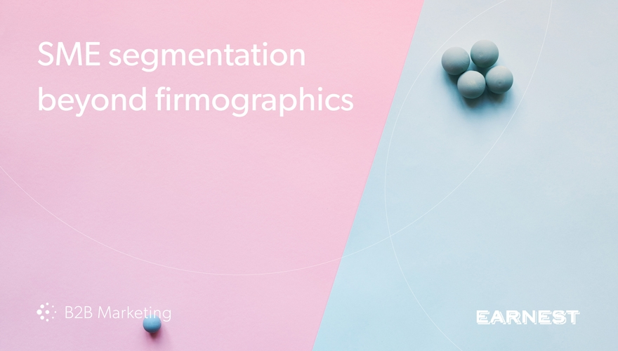 All SMEs ain't the same – segmentation beyond firmographics image