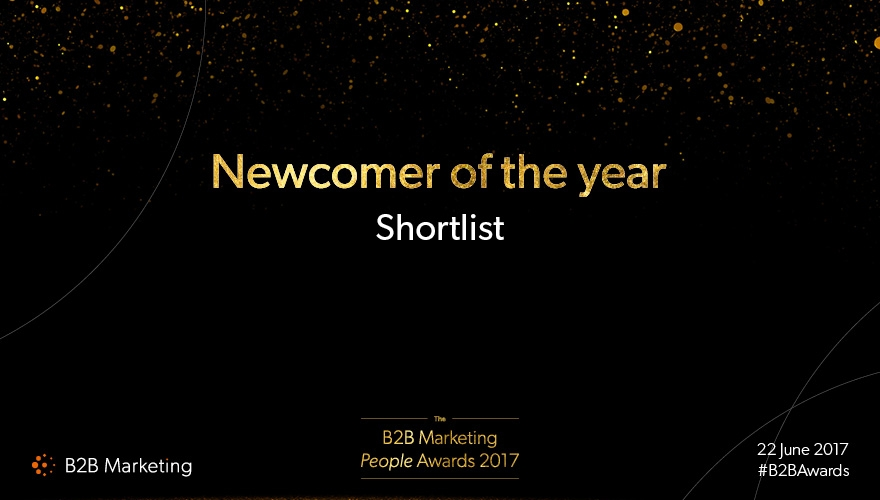 B2B Marketing's People Awards: Meet the finalists for 'Newcomer of the year' image