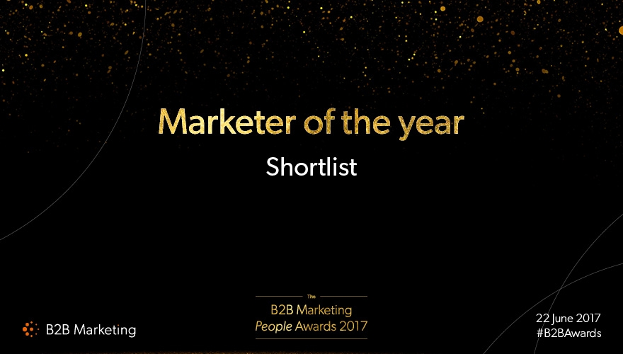 B2B Marketing's People Awards: Meet the finalists for 'Marketer of the year' image