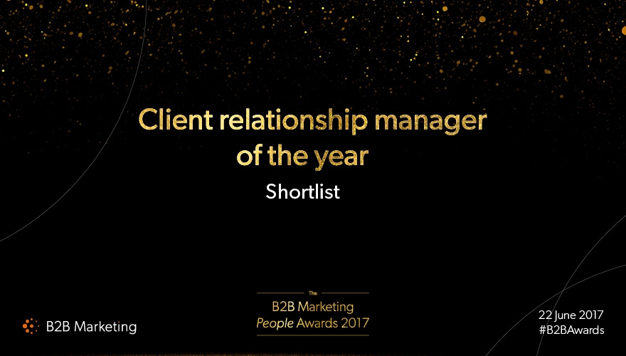 B2B Marketing People Awards: Meet the finalists for 'Client relationship manager of the year' image