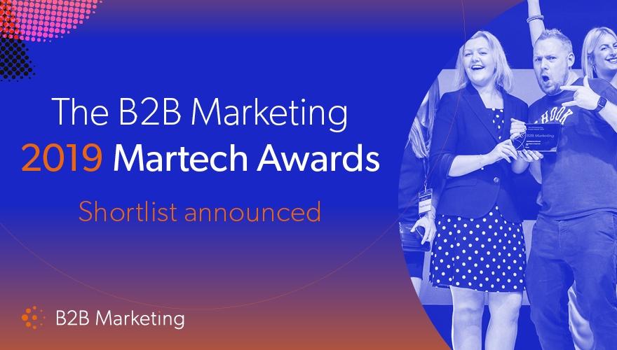 First-ever B2B Marketing Martech Awards shortlist announced image