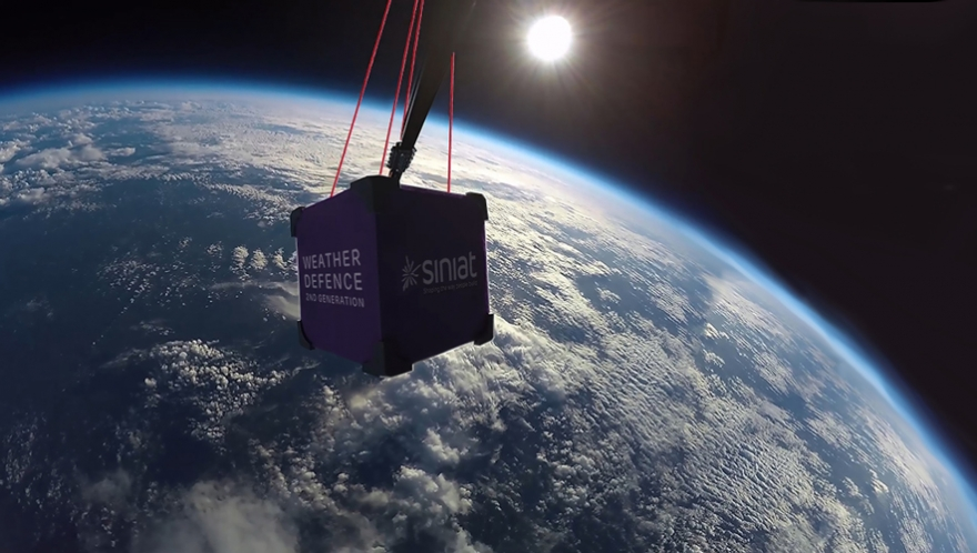 Siniat literally launches latest B2B campaign –into space image