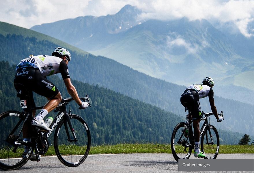 Revolutionising Le Tour de France: Dimension Data digitises cycling image