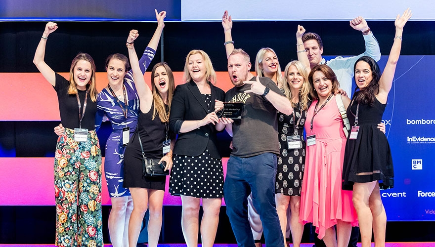 B2B Marketing People Awards picture