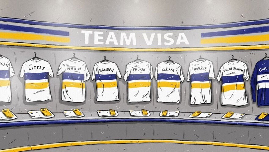 Visa pledges to match marketing spend on Men's World Cup for women's football image © Copa90