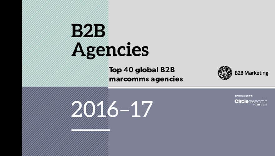Top 40 global B2B agencies revealed image