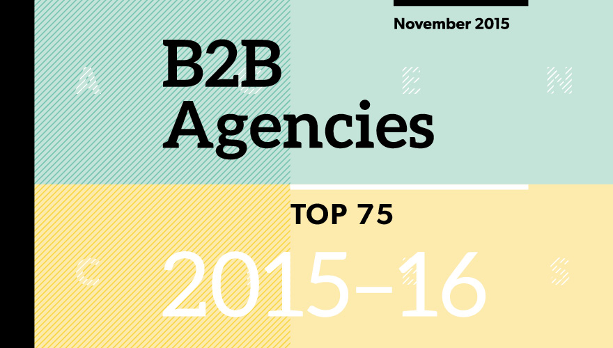 Top B2B Agencies 2015 2016