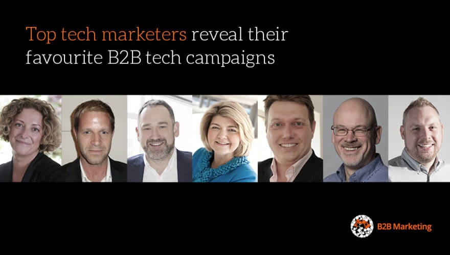 Top tech marketers reveal their favourite B2B tech campaigns image