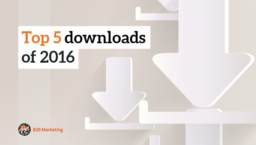 Top 5 downloads of 2016 image
