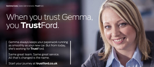Ford's latest B2B campaign features employees