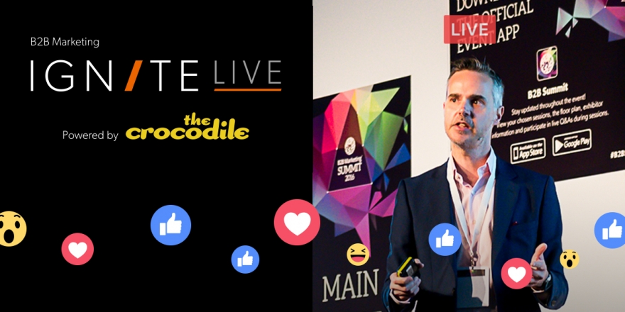 A fresh twist on event social: Ignite 2017 on Facebook Live