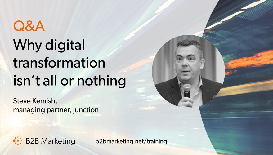 Why digital transformation doesn't have to be all or nothing