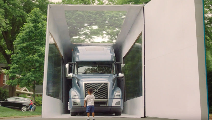 'World's largest unboxing' by a 3-year-old: Watch Volvo's Trucks' latest marketing campaign image