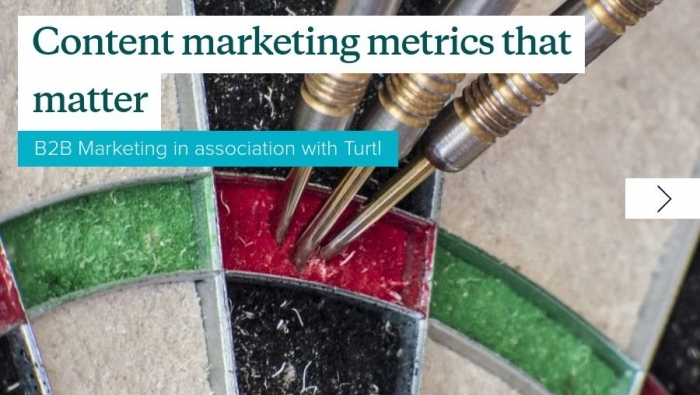 Content marketing metrics that matter