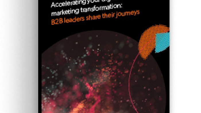 Accelerating your digital marketing transformation: B2B leaders share their journeys