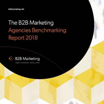 B2B Marketing Agencies Benchmarking Report 2018 image