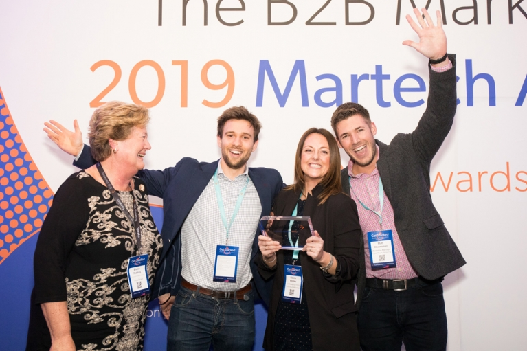 Winners of the martech Awards 2019