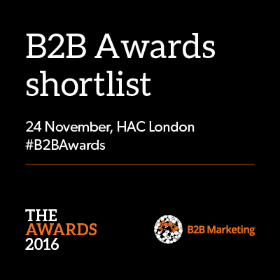 Oracle, Fujitsu and Momentum ABM top B2B Awards 2016 shortlist