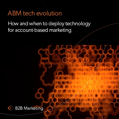 How and when to deploy technology for ABM