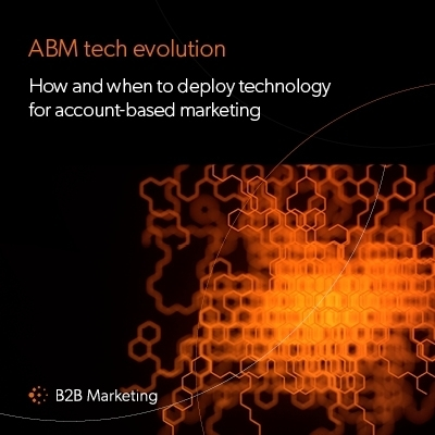 How and when to deploy technology for ABM image