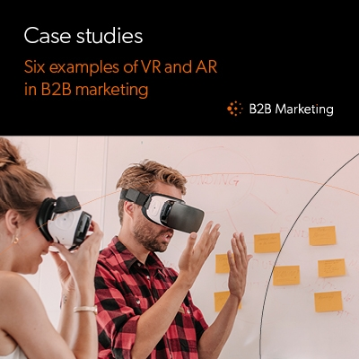 6 great examples of AR and VR in B2B marketing