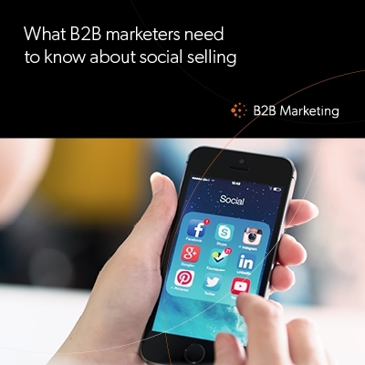 What B2B marketers need to know about social selling