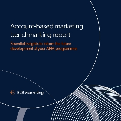 Account-based marketing (ABM) benchmarking report image