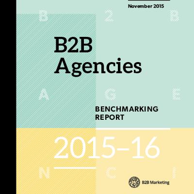 Top 5 downloads of 2016: B2B Agencies Benchmarking Report