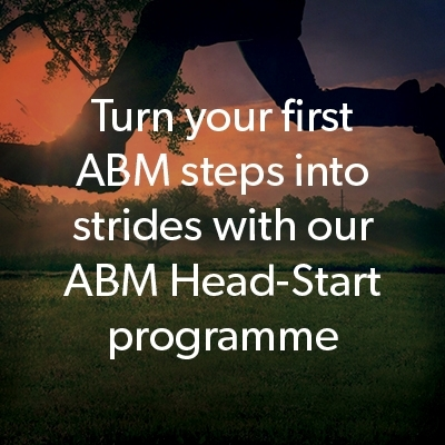 How to turn your first ABM steps into strides