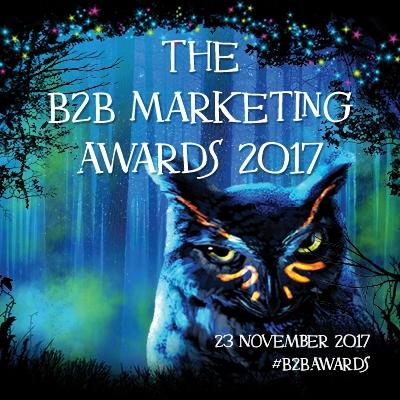 B2B Marketing Awards 2017 winners image