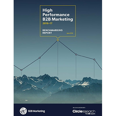 B2B Marketing High Performance B2B Marketing research project download