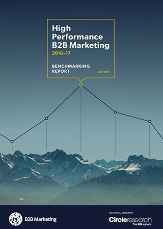 High performance B2B Marketing research project
