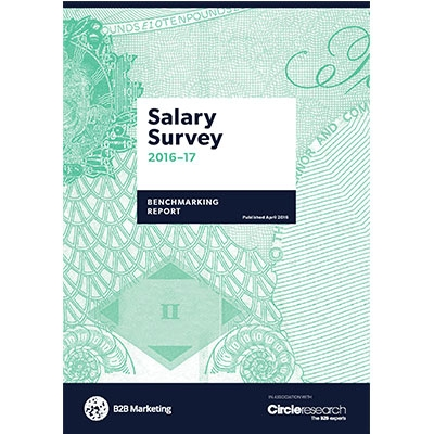 B2B Marketing Salary Survey - the results, marketers work 20% more hours than they are contracted to image