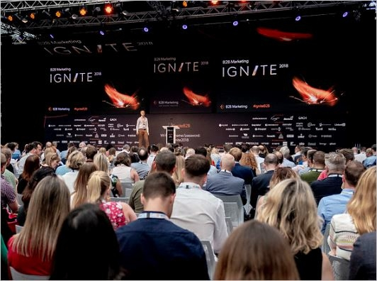 B2B Marketing Ignite main stage