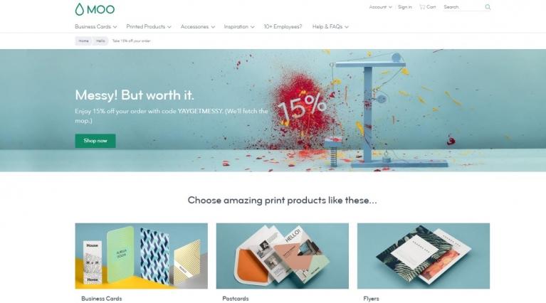 Moo website