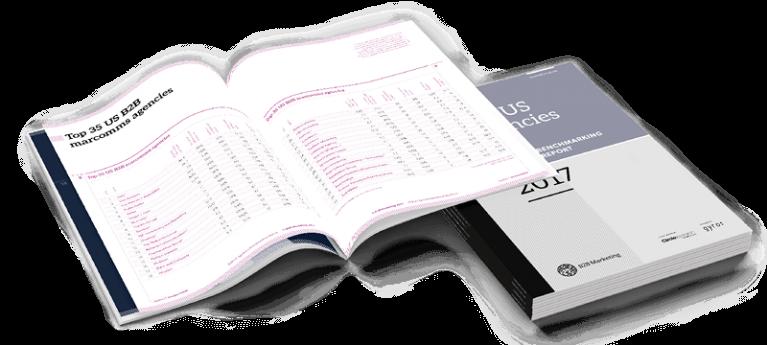 B2B US Agencies Benchmarking Report 2017 inside image