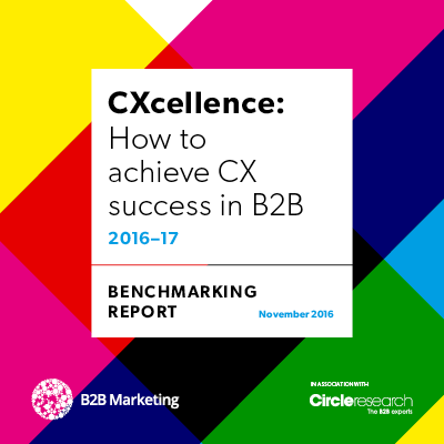 CXcellence: How to achieve CX success in B2B image