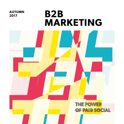 B2B Marketing magazine – Autumn 2017 image