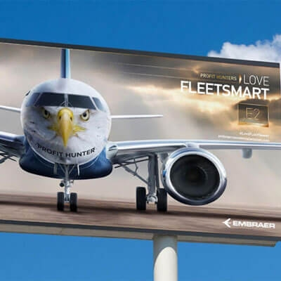 Awards case study: Embraer increases share of audience by 624% with challenger brand multichannel campaign