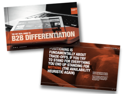 The Get Real Guide to B2B Differentiation