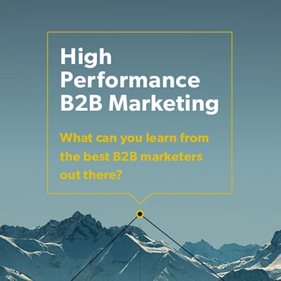 Top 5 downloads of 2016: High Performance B2B Marketing