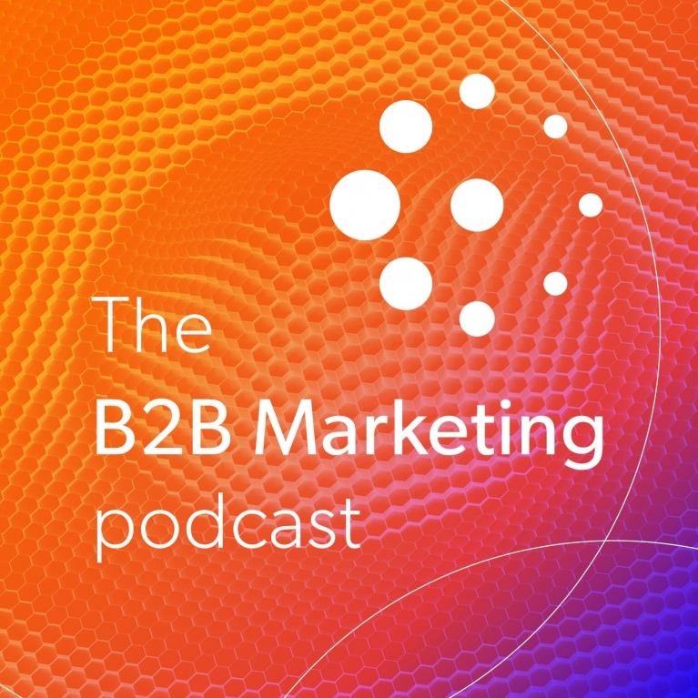 The B2B Marketing Podcast logo