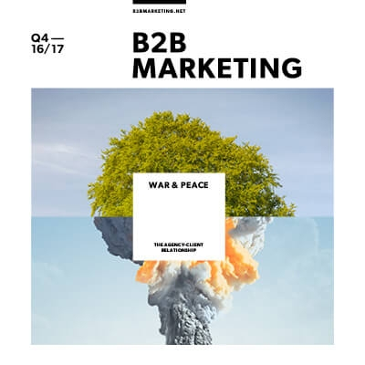 B2B marketer of the year Andy Cravos interview