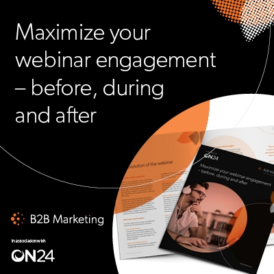 Maximizing your webinar engagement – before, during and after image